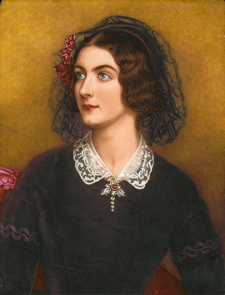 1847 Portrait of Lola Montez painted for the King of Bavaria